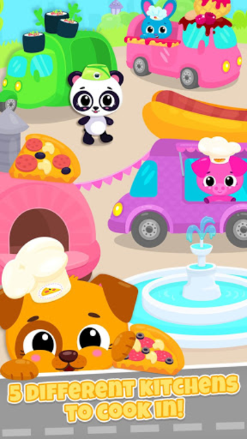 Cute & Tiny Food Trucks - Cooking with Baby Pets screenshot 6