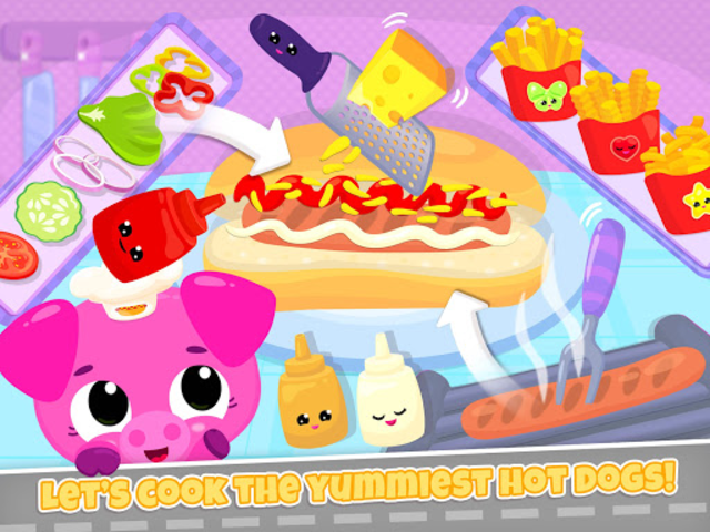 Cute & Tiny Food Trucks - Cooking with Baby Pets screenshot 11