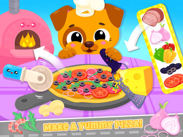 Cute & Tiny Food Trucks - Cooking with Baby Pets screenshot 14