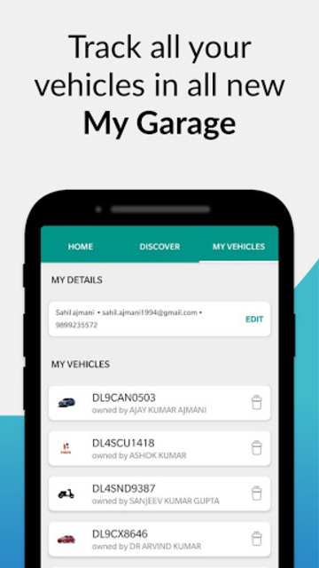 RTO Vehicle Information: Vehicle Owner Details screenshot 8
