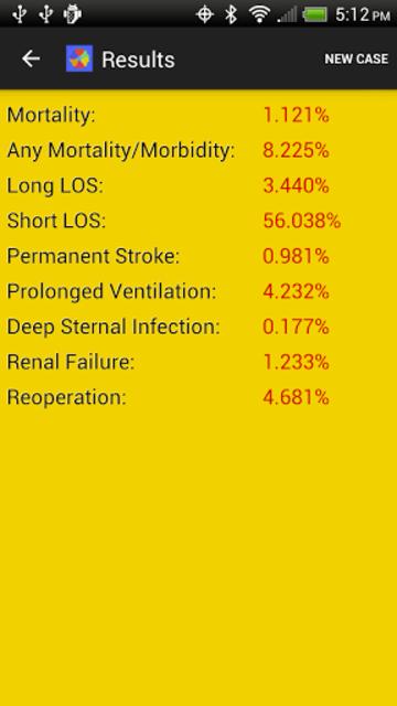 Adult Cardiac Surgery Risk screenshot 4
