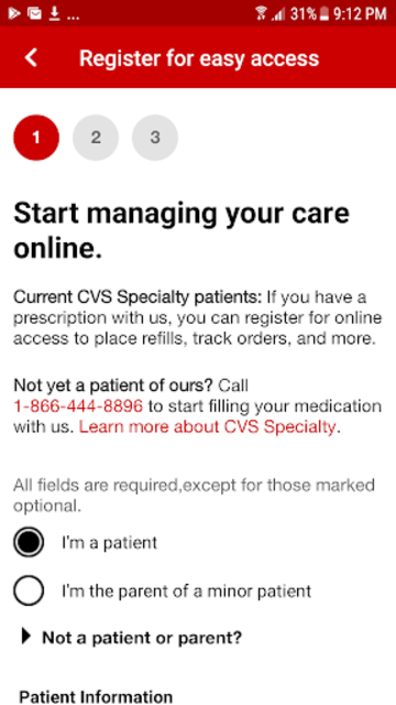CVS Specialty screenshot 2