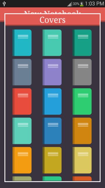 My Notebooks screenshot 3