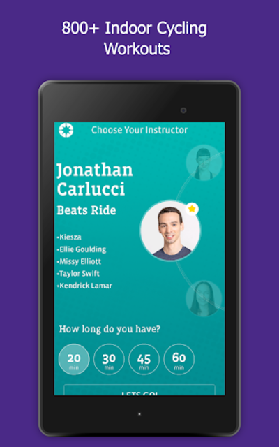 CycleCast - Indoor Cycling Workouts for Any Bike screenshot 11