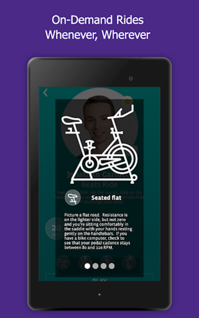 CycleCast - Indoor Cycling Workouts for Any Bike screenshot 12