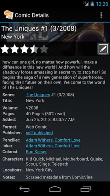 ComicRack screenshot 19