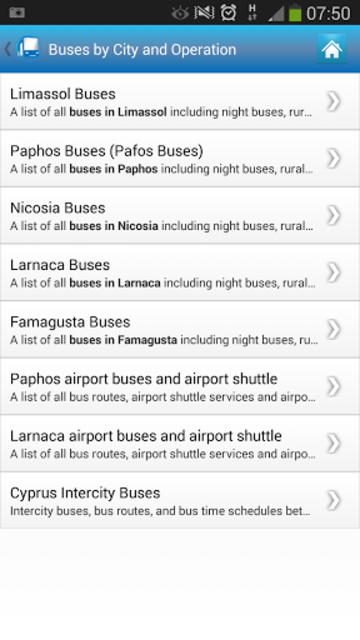 Cyprus By Bus screenshot 2