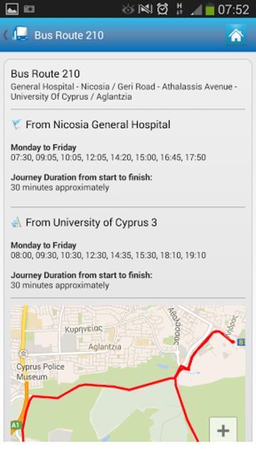 Cyprus By Bus screenshot 3