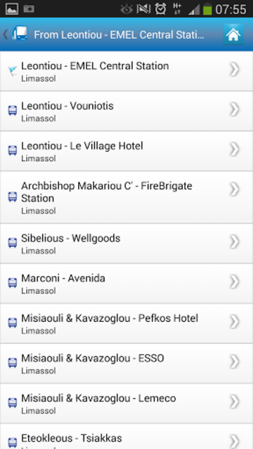 Cyprus By Bus screenshot 5