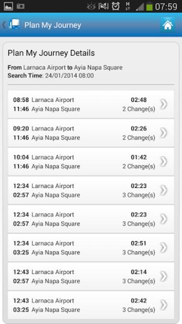 Cyprus By Bus screenshot 8