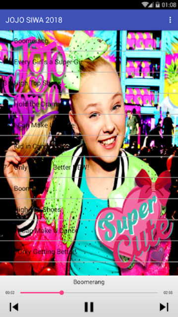 JOJO SIWA - Best Music Song Offline screenshot 3