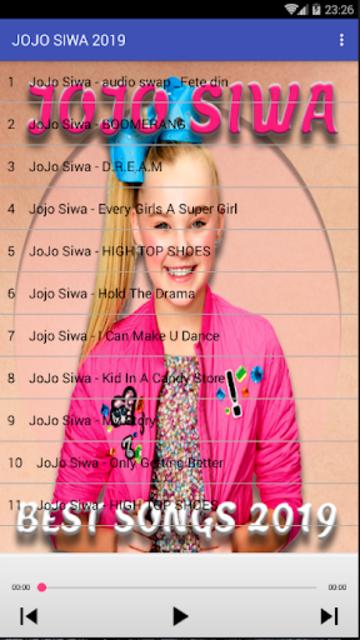 NEW JOJO SIWA SONGS OFFLINE screenshot 2