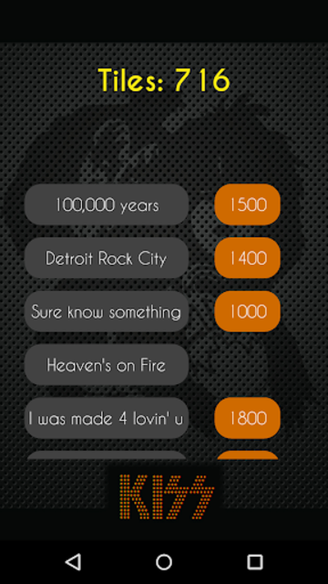 Kiss Piano Challenge screenshot 2