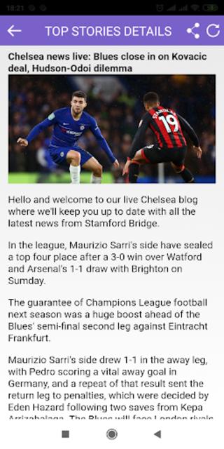 Breaking News for Chelsea screenshot 4