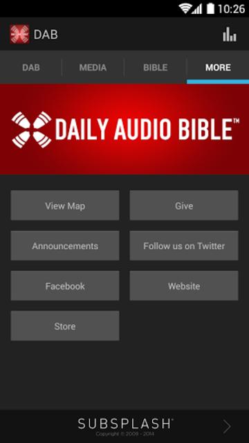 Daily Audio Bible App screenshot 4