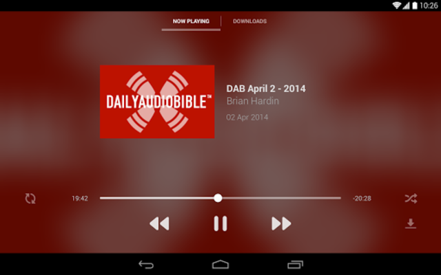 Daily Audio Bible App screenshot 9