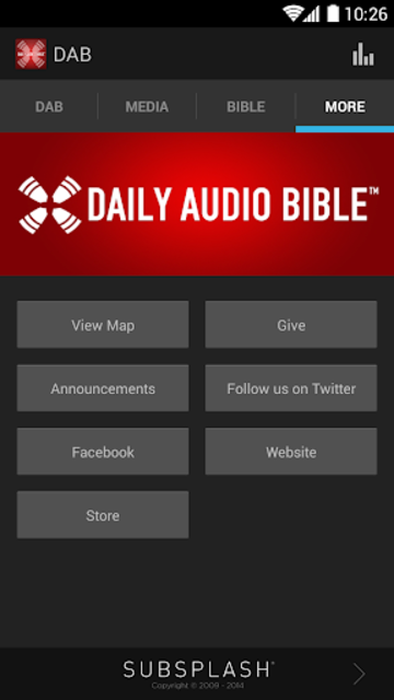 Daily Audio Bible App screenshot 4