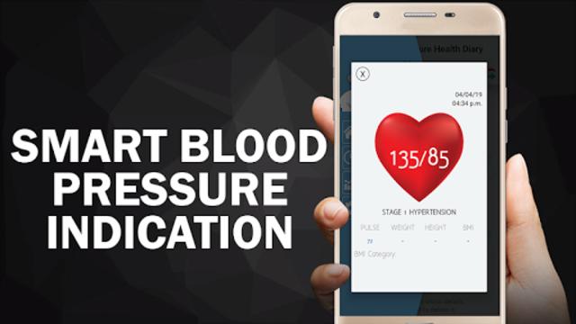 Blood Pressure Diary : BP Logger Scan Test Tracker screenshot 1