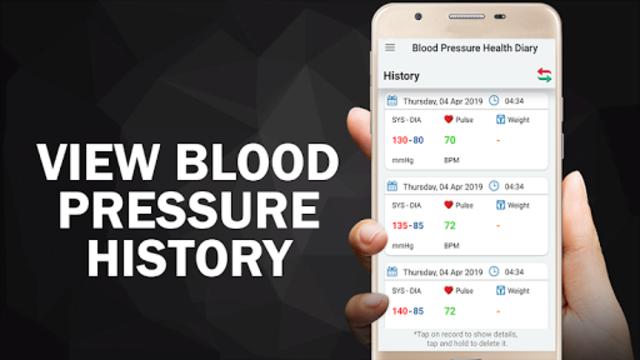 Blood Pressure Diary : BP Logger Scan Test Tracker screenshot 4