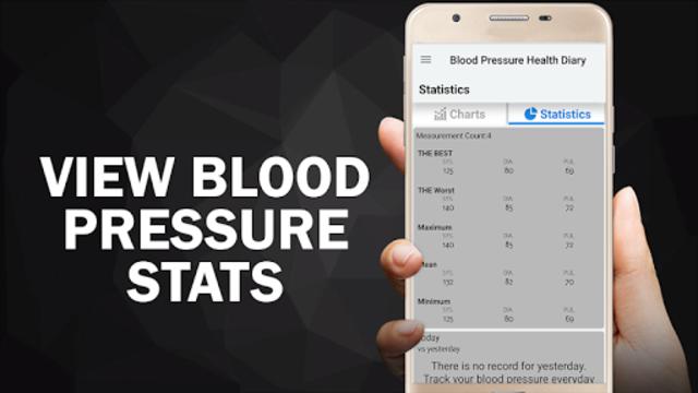 Blood Pressure Diary : BP Logger Scan Test Tracker screenshot 5