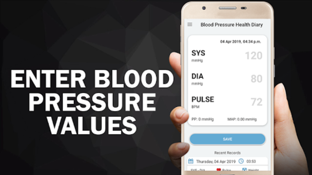 Blood Pressure Diary : BP Logger Scan Test Tracker screenshot 10