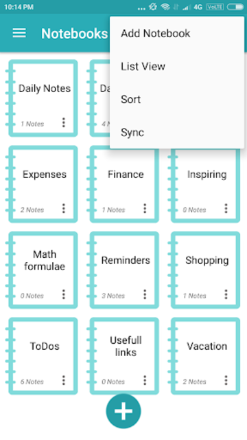 Note Daily- Notes, Notebook, Notepad, Planner 2020 screenshot 2