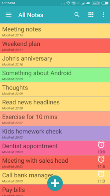Note Daily- Notes, Notebook, Notepad, Planner 2020 screenshot 3