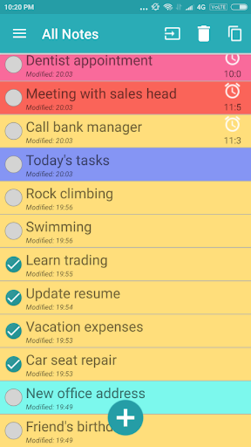 Note Daily- Notes, Notebook, Notepad, Planner 2020 screenshot 4