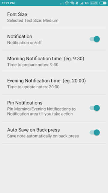 Note Daily- Notes, Notebook, Notepad, Planner 2020 screenshot 10