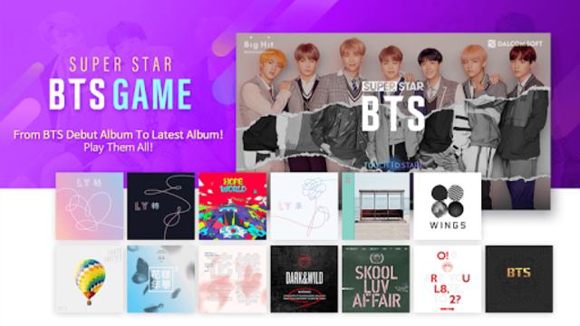 SuperStar BTS screenshot 1