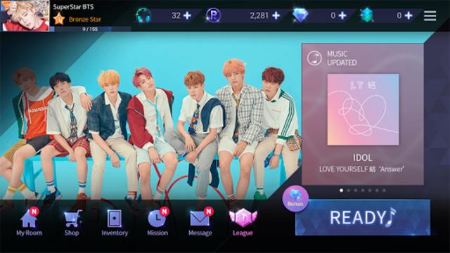 SuperStar BTS screenshot 6