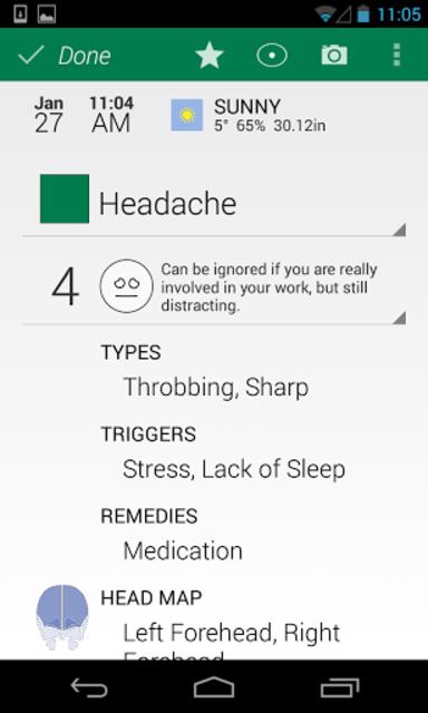 My Pain Diary screenshot 5