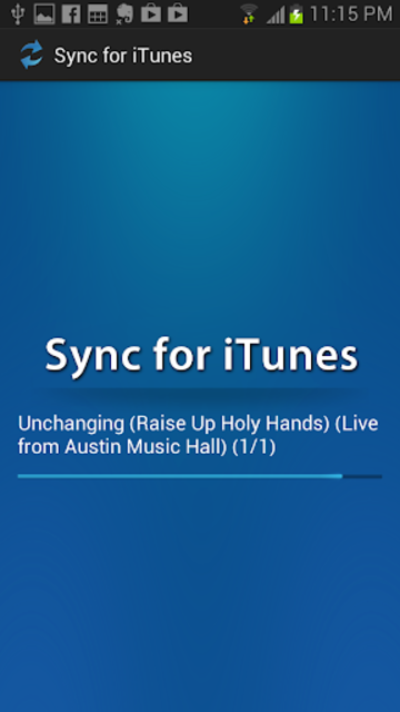Sync for iTunes screenshot 3
