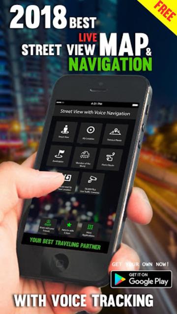 Street View Live Maps, GPS Navigation Maps Live screenshot 1