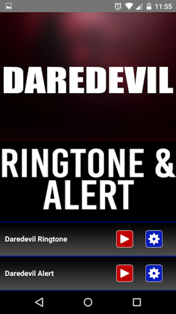 Daredevil Theme Music Ringtone screenshot 1