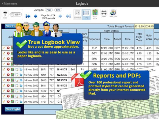 Safelog Pilot Logbook screenshot 12