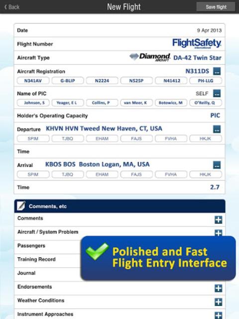 Safelog Pilot Logbook screenshot 14