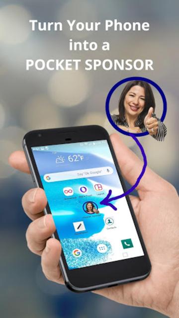 Pocket Sponsor App screenshot 1