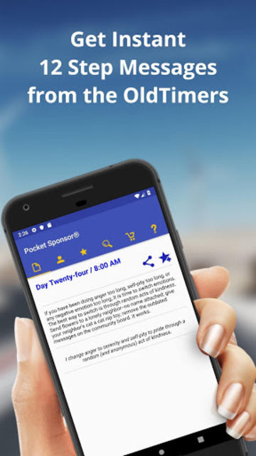 Pocket Sponsor App screenshot 2