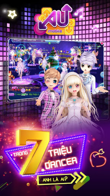 Au Mobile VTC – Game nhảy Audition screenshot 1