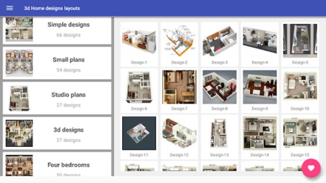 3d Home designs layouts screenshot 8