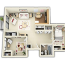 Icon for 3d Home designs layouts