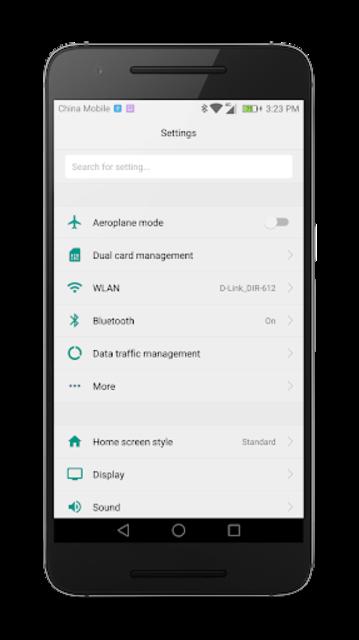 Material Theme for Huawei EMUI screenshot 2