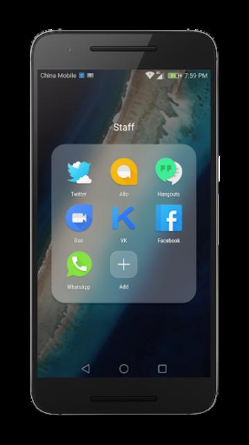 Material Theme for Huawei EMUI screenshot 3