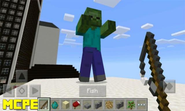 Grappling Hook Mod for MCPE screenshot 2