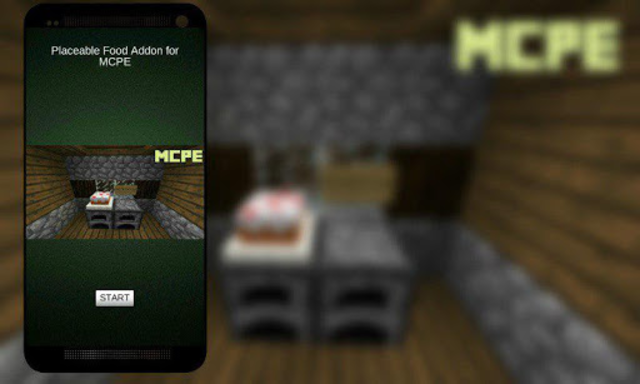 Placeable Food Addon for MCPE screenshot 1