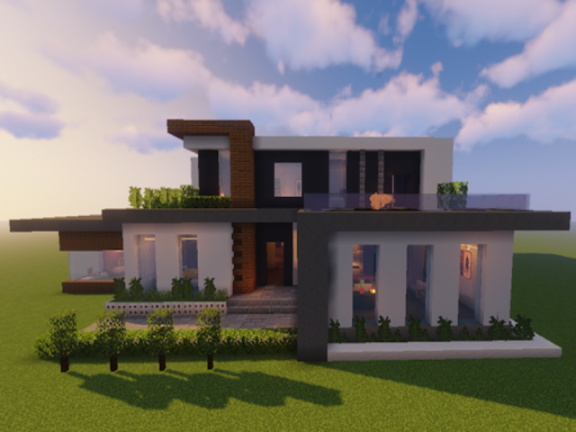 New Modern House for Mine✿✿✿craft - 500 Top Design screenshot 1