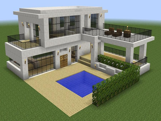 New Modern House for Mine✿✿✿craft - 500 Top Design screenshot 3