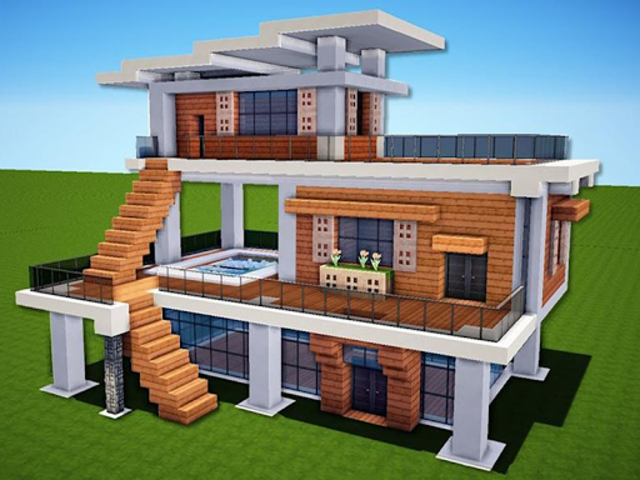 New Modern House for Mine✿✿✿craft - 500 Top Design screenshot 9