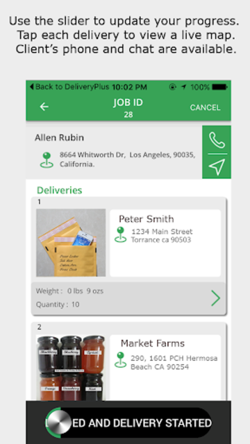 Delivery Plus Driver's App screenshot 4